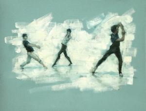 Joshua Feist, Oliver Wilkinson-Smith and Miguel Fernandes (Ballet Cymru rehearsal 176)