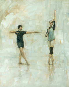 Lord and Lady Capulet (Ballet Cymru rehearsal 181)