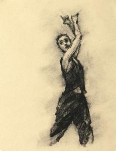 Nina Kramberger (Ballet Cymru rehearsal 186)