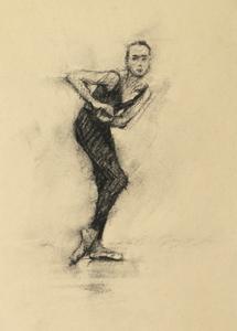 Romy Adair (Ballet Cymru rehearsal 189)