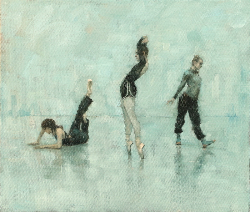 Ailysh Healy, Romy Adair and Erin Atkinson (Ballet Cymru rehearsal 191)