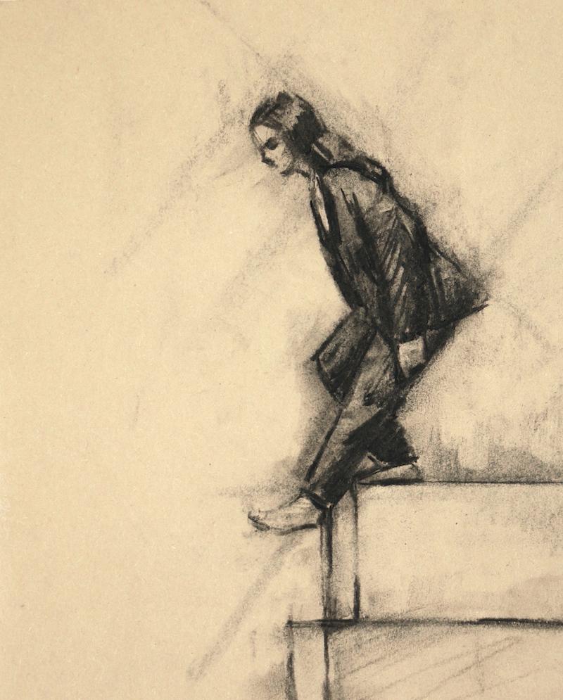 Maria Brunello (Ballet Cymru rehearsal 194)
