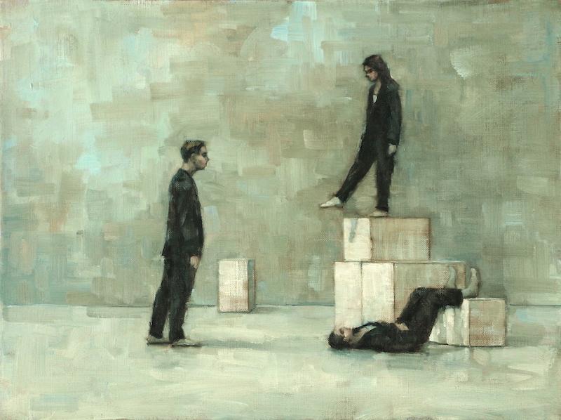 Oliver Wilkinson-Smith, Maria Brunello and Alex Hallas (rehearsal 195)