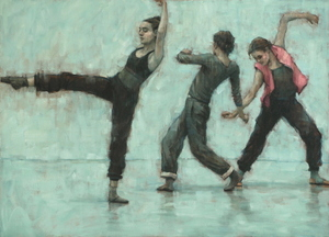 Ballet Cymru rehearsal 205