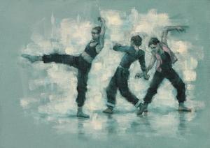 Ballet Cymru rehearsal 206