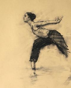 Risa Yokoyama (Ballet Cymru rehearsal 208)