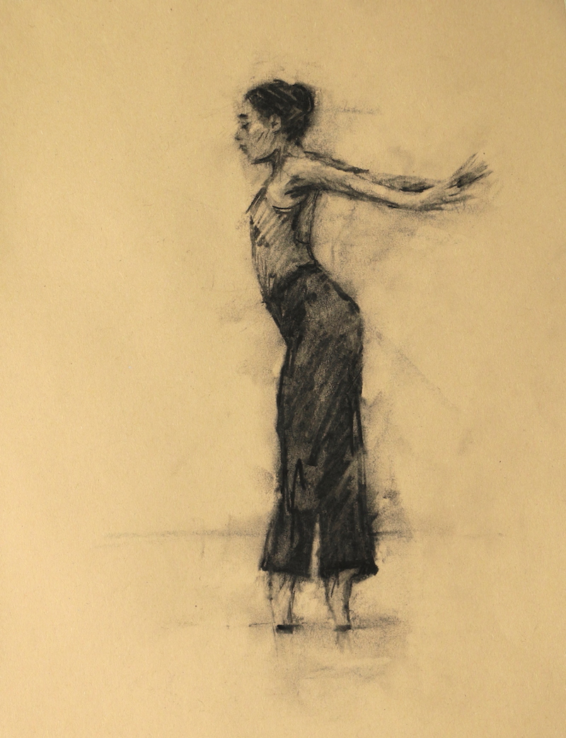 Risa Yokoyama (Ballet Cymru rehearsal 209)