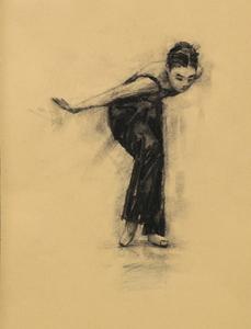 Risa Yokoyama (Ballet Cymru rehearsal 210)