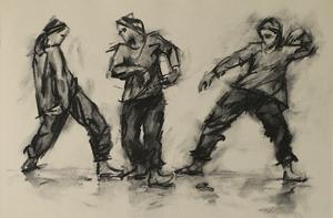 Erin Atkinson (Ballet Cymru rehearsal 211)