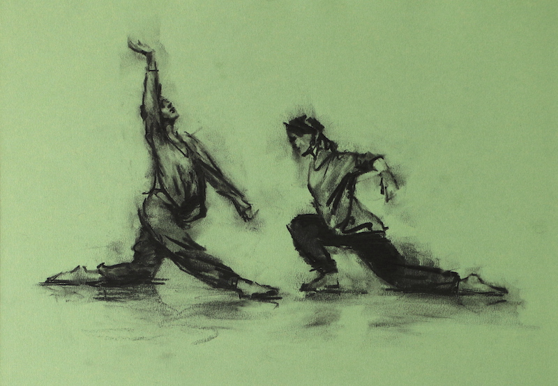 Erin Atkinson (Ballet Cymru rehearsal 213)