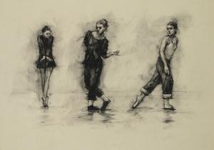 Ballet Cymru rehearsal 215