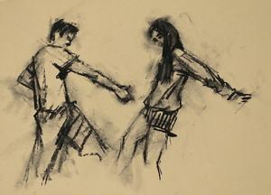 Andrea Battaggia and Maria Brunello (Ballet Cymru EF 1)
