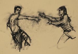 Andrea Battaggia and Maria Brunello (Ballet Cymru EF 2)