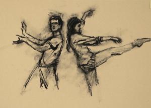 Andrea Battaggia and Maria Brunello (Ballet Cymru EF 4)