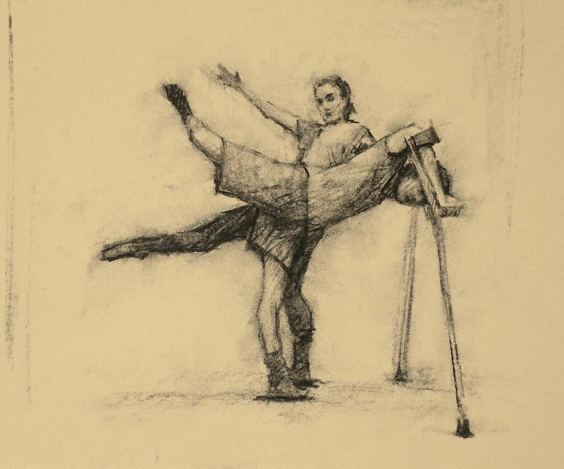 Izzy Holland and Joe Powell-Main (Ballet Cymru EF 6)