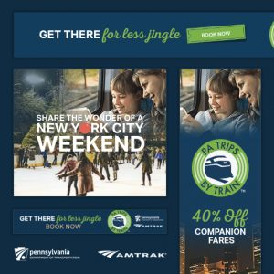 "Display Ads for PennDOT ""New York On Your Own"" Promo"