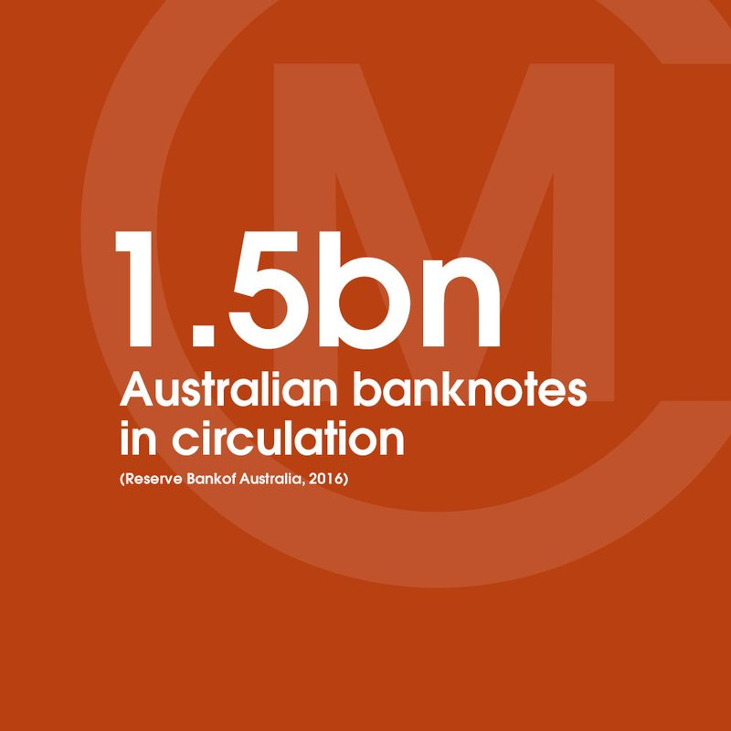 1.5bn cash in circulation Australia STAT
