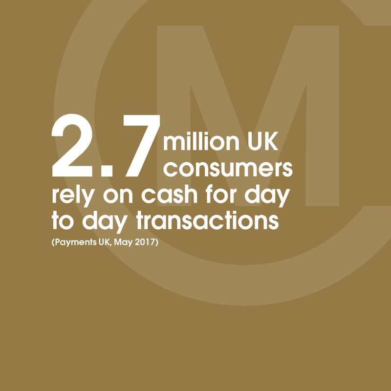 payments uk consumers rely cash 2.7 million stat bronze