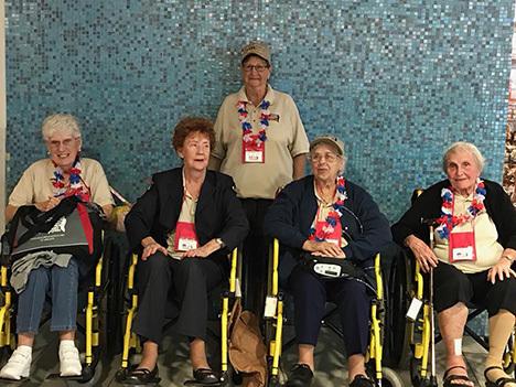 Cover 5 female veterans honor flight 31 sep 26  2017