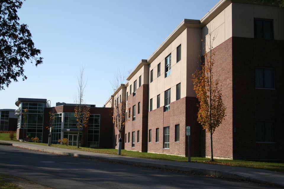Apartment Building Hall residence halls · castleton university
