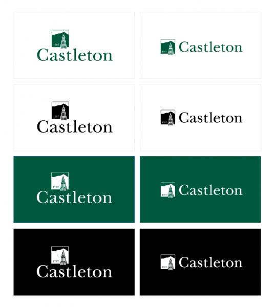 Castleton Logo Treatments