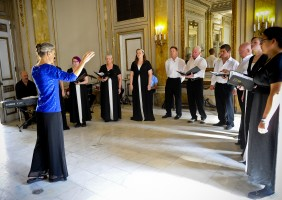 Choir performs in Cuba