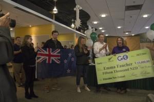 Emma Faucher wins scholarship