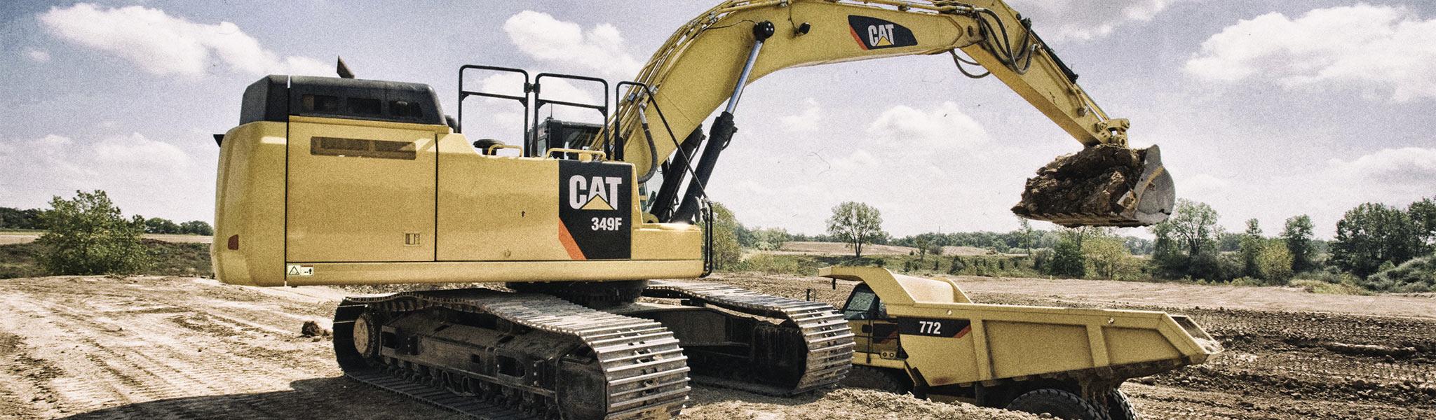 Cat 349F Excavator