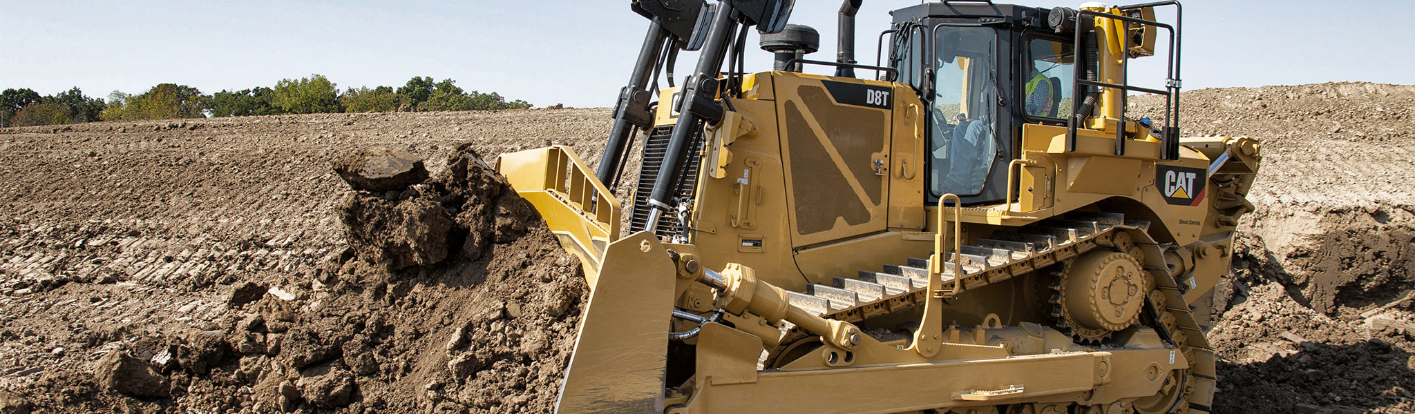 D8T Dozer features lower fuel consumption