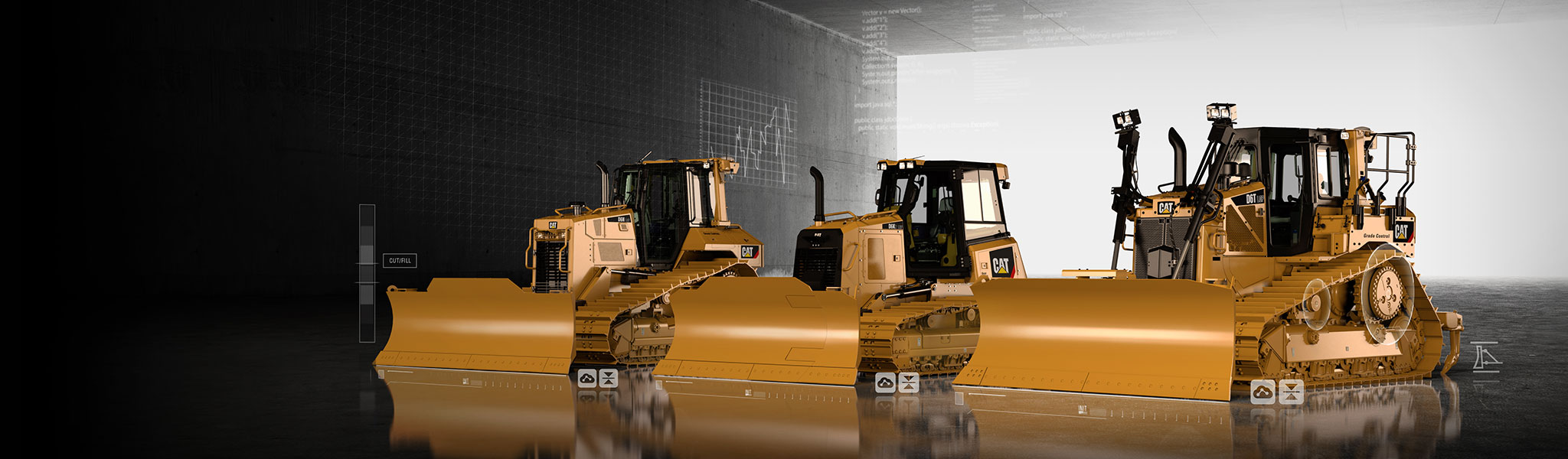 Caterpillar Dozer Product Family