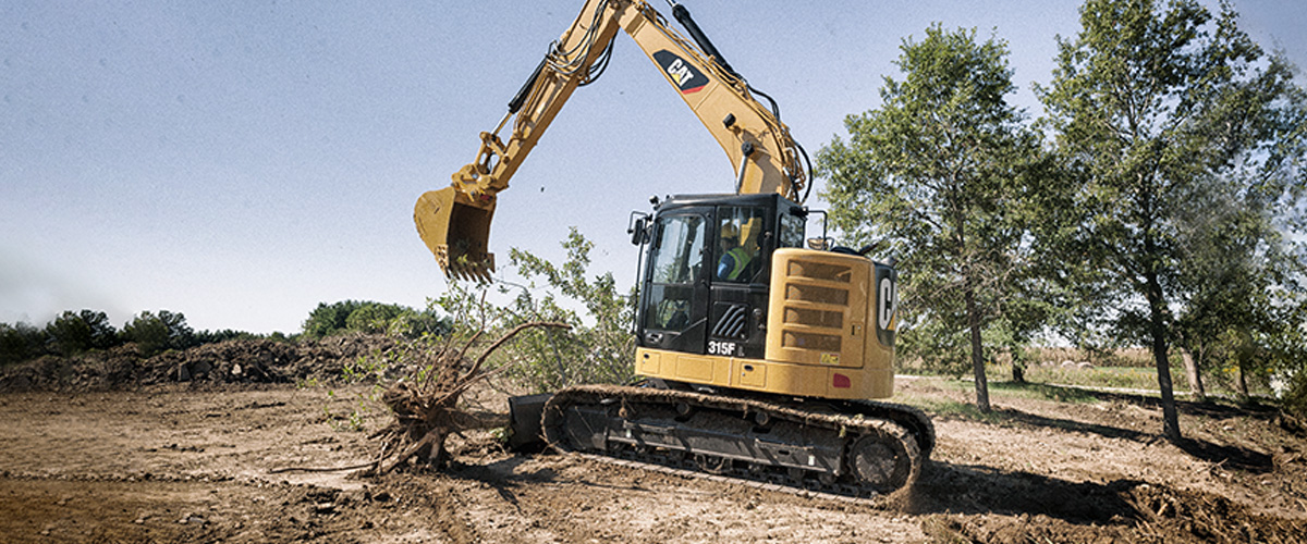 The new Cat® 315F is designed to help you keep work in tight quarters productive and profitable.