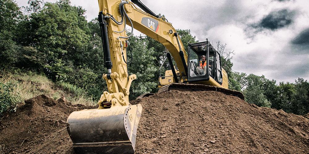 Cat® 323F L excavator