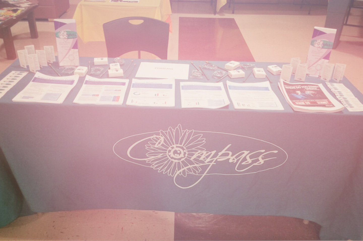 COMPASS Community Outreach Table