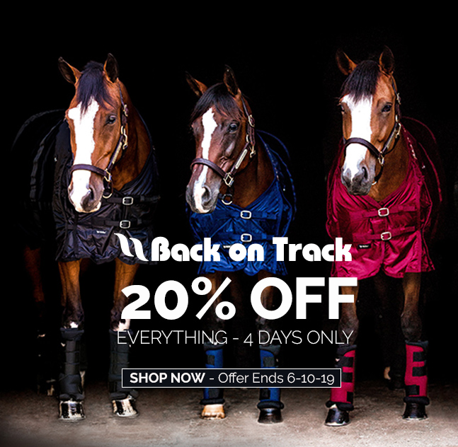 Last Day! Back on Track Everything 20% OFF Ends Today