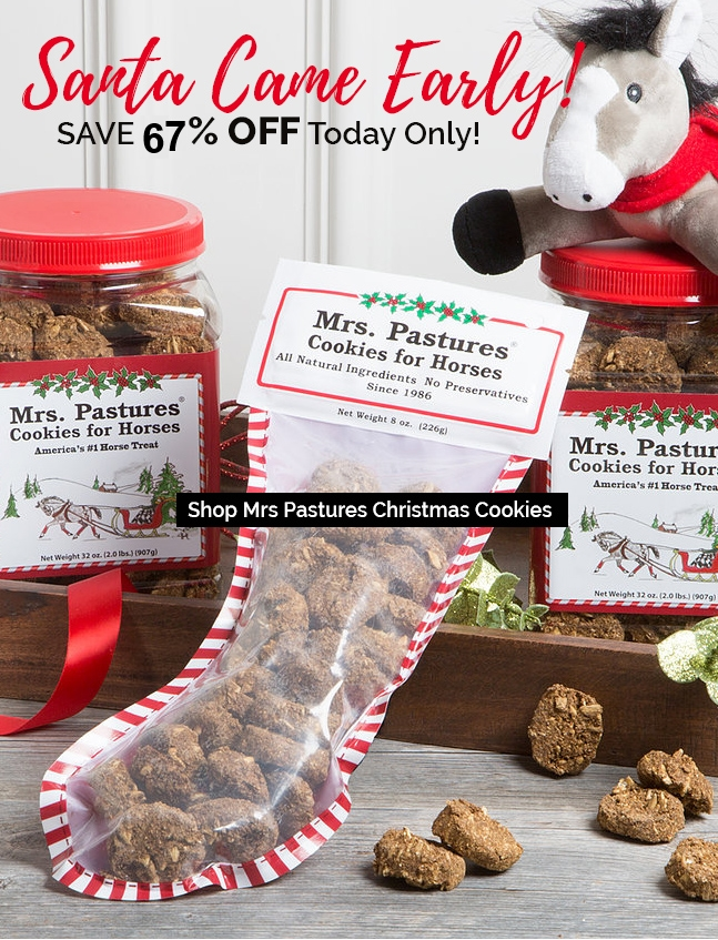 Oooops... Mrs. Pastures sent an early shipment of Christmas Cookies Shop 50% OFF Today Only!