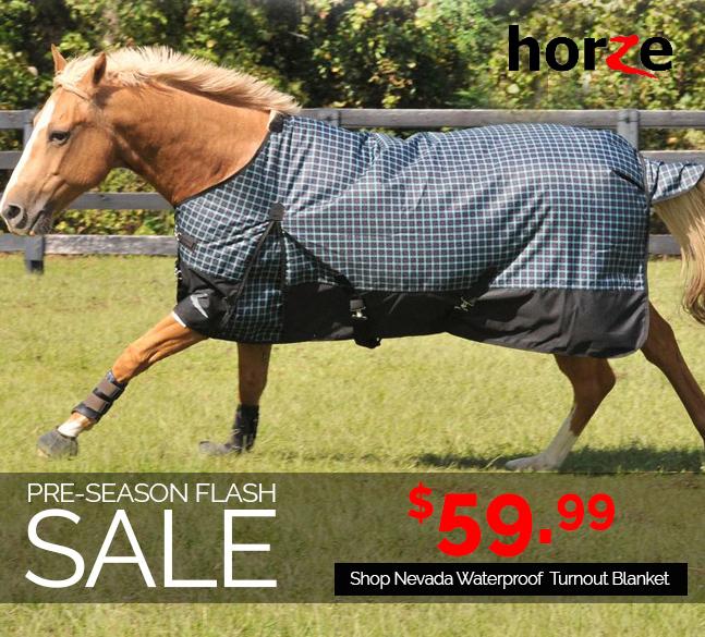 HorZe Nevada Turnout Blanket JUST $59.99