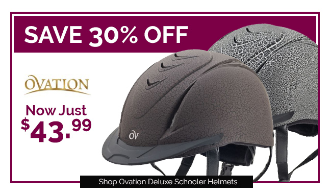 Ovation Protege Helmets Now Just $37.99 - Save 30% OFF