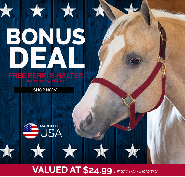 FREE Perri's Nylon Break-Away Halter With $150 Order - $24.95 Value