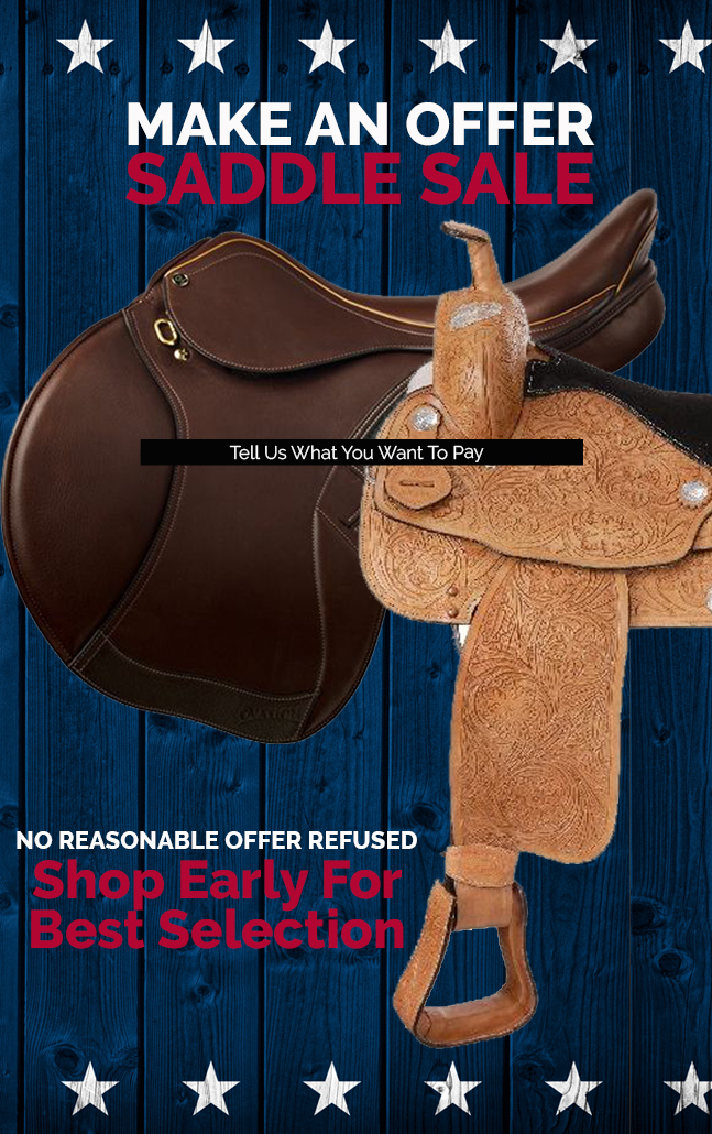 Make an Offer Saddle Deals