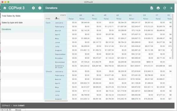 FileMaker Pivot Table Plugin - ccPivot
