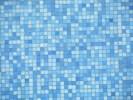 Rivestimento mosaico blu