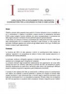 Linee guida del Cni per lo svolgimento dell'incarico di coordinatore della sicurezza in fase di esecuzione