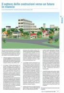 Il settore delle costruzioni verso un futuro in rilancio (Dossier Uni nov./dic. 2015)