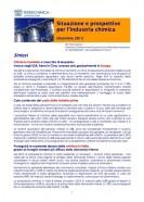 Situazioni e prospettive per l'industria chimica – Dicembre 2015
