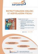 Ristrutturazioni edilizie: le agevolazioni fiscali (agg. marzo 2016)