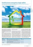 La certificazione energetica degli edifici – Dossier Uni Maggio 2016