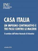 Casa Italia – le proposte dell'Istituto nazionale di urbanistica (Inu)