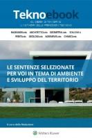 Lo sviluppo sostenibile del territorio attraverso la parola dei tribunali