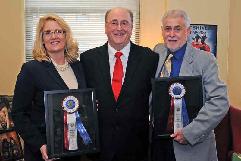 Sen Webb and Rep Turner award