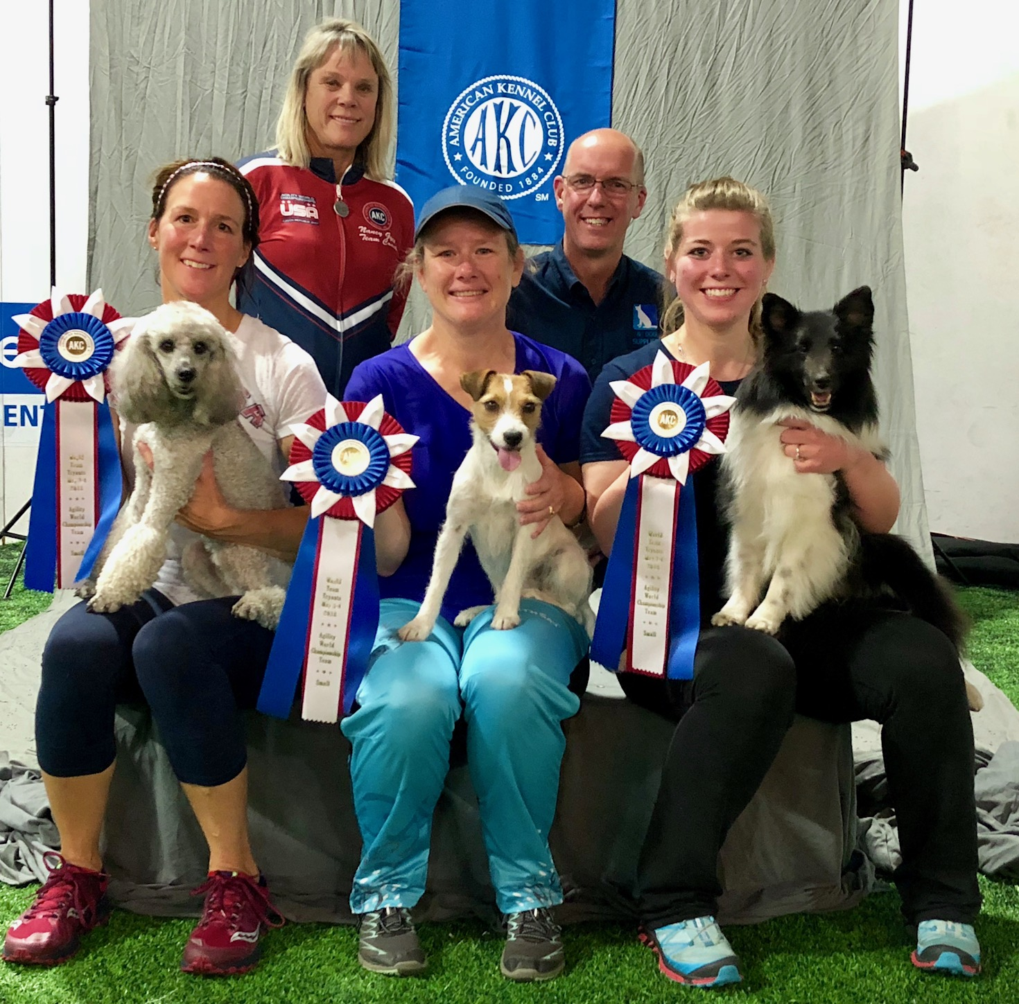 AKC USA World Agility 2018 Small Team